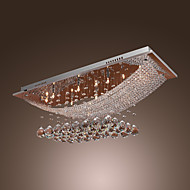 SL® Chandelier Modern Luxury Crystal 8 Lights