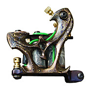 Brass Pattern Tattoo Machine Gun