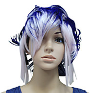Capless Mixed Color Party Wig