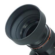 52mm gumová sluneční clona pro široký úhel, standard, teleobjektiv