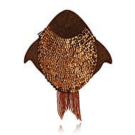 Charming Fish Design Sequins Evening Handbag/Clutches(More Colors)