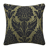 Elegant blom Jacquard Polyester dekorativ örngott