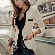 office vrouwen uitgerust zwarte en witte blazer