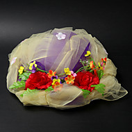 Women's Satin/Lace Headpiece - Wedding/Special Occasion Hats
