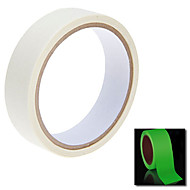 124x2cm Glow i Dark Luminous Lys Tape