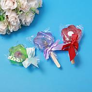 Diseño de la flor Jabón favor de la boda - Juego de 4 (más colores)