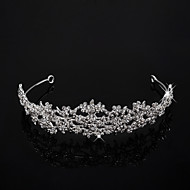 Alloy With Cubic Zirconia Wedding Tiara