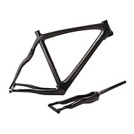 Shuffle-2013 New Style Full Carbon Feather Light Snake Shaped Road Bike Frame with Rigid Fork And Seatpost