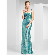 TS Couture Prom / Military Ball / Formal Evening Dress - Jade Plus Sizes / Petite Sheath/Column Straps Sweep/Brush Train Sequined