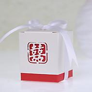 einfache asian Thema zugunsten Box mit Schleife (Satz 12)