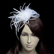Women's Tulle/Flannelette Headpiece - Wedding/Special Occasion Fascinators