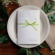 jardin thématique invitation de mariage en relief avec de la sauge arc (jeu de 50)