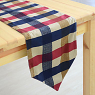 Classique Plaid Runner Table coton Patron