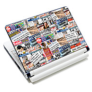 """""""Zeitung"""" Muster Laptop Schutzfolie für 10 """"/ 15"""" Laptop 18586 (15 """"geeignet für unter 15"""")"""