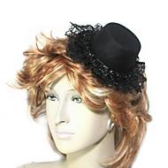 Women's Lace/Flannelette Headpiece - Wedding/Special Occasion Fascinators