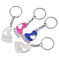 Personlig nyckelring - Feet (Set of 6 par)