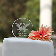 Cake Toppers Personalized Round Crystal  Cake Topper (More Designs)