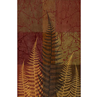 Trykt kunst Blomster og botanik Ferns II af Erin Clark