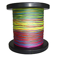 500M / 550 Yards PE Braided Line / Dyneema / Superline Fishing LineGreen / Orange / Yellow / Purple / Fuchsia / Red / Blue / Assorted