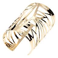 Dames Cuff armbanden Vintage Armbanden Uniek ontwerp Modieus Juweeltje Legering Sieraden Gouden Sieraden Voor Causaal Kerstcadeaus 1 stuks