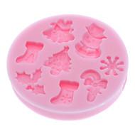 sütőformát Cartoon Shaped Cake / Cookie / Pie Szilikon Környezetkímélő / Karácsony / Barkács (DIY) / 3D