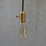 Max 60W Traditional/Classic / Vintage Bulb Included Brass Pendant Lights Bedroom / Dining Room / Hallway