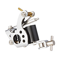 Stål Stempling Dual Coils 10 Wraps Tattoo Machine Gun for Shader