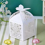 Cubiod thème floral boîte de faveur Cut-out (Set of 12)