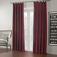 TWOPAGES® Two Panels  Solid Mordern Luxury Blackout Curtain