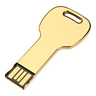 32GB Metal Key Type USB Flash Drive with Chain Hole (Assorted Colors)