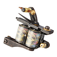 Carbon Steel Casting Dual Coils 10 Wraps Tattoo Machine for Liner