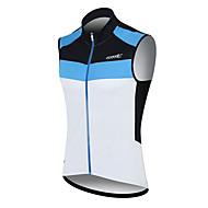 Šantić Heren Fietsen 100% Polyester Fiber mouwloos T-shirt (blauw)