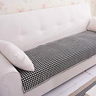 bomuld sort og hvid blonde sofa pude 70 * 150