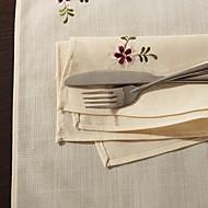 Beige Mélange Poly/Coton Serviettes