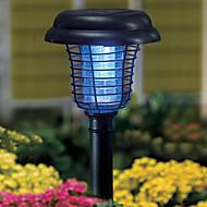 Solar Plastic Mosquito Zapper Stake Luz Caminho de Jardim Iluminação (cis-52112)