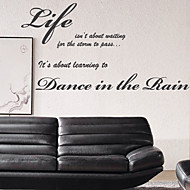 Life is What Wall Stickers