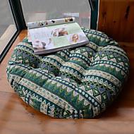 Sud-Est Pays design Linge Chair Pad vert Asie Style ronde