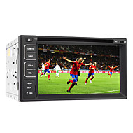 "6.2 ""2DIN TFT skærm in-dash bil dvd-afspiller support bt, rds, touch screen"