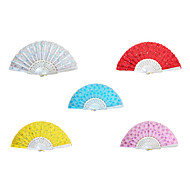 Delicate Sequins Hand Fan - Set of 6(More Colors)