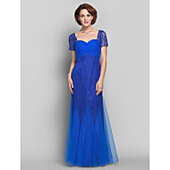 Lanting Bride® Sheath / Column Apple / Hourglass / Inverted Triangle / Pear / Rectangle / Plus Size / Petite / MissesMother of the Bride