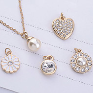 Jewelry Set Women's Anniversary / Birthday / Gift / Party / Daily / Special Occasion Jewelry Sets Alloy Imitation Pearl / Rhinestone