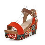 Suede Platform Platform Sandalen Casual schoenen (meer kleuren)