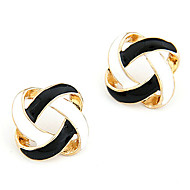 Women's Korean Simple Yarn Ball Earrings E27