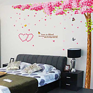 Botanical Love under Tree Wall Stickers