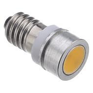 E10 0.5W 28-30LM 2800K luce bianca calda a LED Lampadina dell'automobile (DC12V)