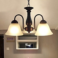 Max 60W Traditional/Classic Metal Pendant Lights Living Room / Bedroom / Dining Room