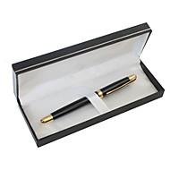 gepersonaliseerde gift van het Vaderdag black metal zwarte inkt gel pen