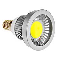 E14 3 W 1 COB 270-300 LM Cool White Spot Lights AC 85-265 V