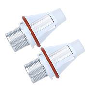 2 * 7WホワイトクリーLEDエンジェルアイハロー電球の光BMW E39 E53 E60 E63 E64 E65 E66 E83 E87エラーのための無料