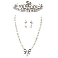 Women's Agate Jewelry Set Rhinestone